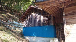 氷川神社(高尾町) 本殿覆屋