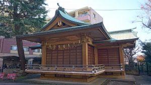 板橋区氷川町氷川神社 神楽殿