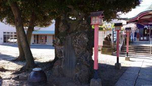 千住神社 神狐像 (2)