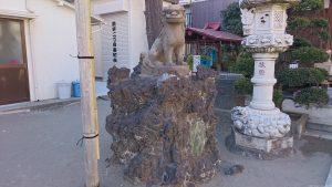 押上天祖神社 狛犬 吽