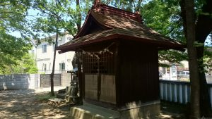 稲城青渭神社 納札所