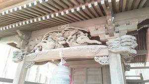 野毛六所神社 北野神社彫刻