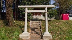 二宮神社(小河大明神) 合祀殿 鳥居