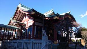 千住神社 拝殿