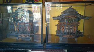河原町稲荷神社 神道厨子二基