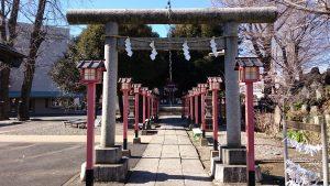 千住神社 三の鳥居