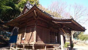 氷川神社(高尾町) 拝殿