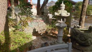 野毛六所神社 多摩川水神社 神苑