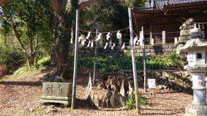 氷川神社(高尾町) 御神木跡