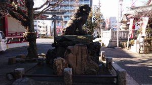 河原町稲荷神社 狛犬 吽