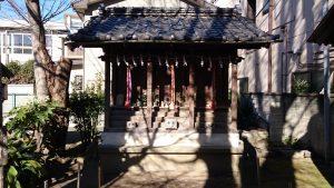 千住神社 八幡神社・幸福神社・三峯神社