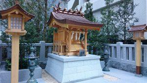 日本橋薬祖神社社殿