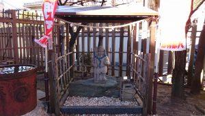 白幡八幡神社(千住宮元町) 毘沙門天尊像
