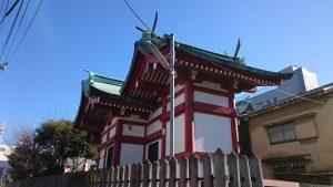 白幡八幡神社(千住宮元町) 本殿