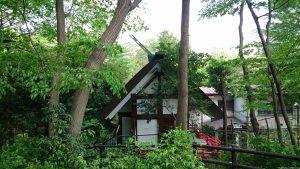 東山稲荷神社(東山藤稲荷神社) 社殿
