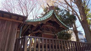 清水稲荷神社 本殿