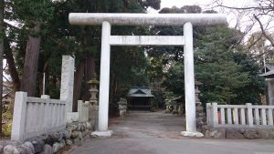 阿伎留神社 鳥居