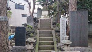 柳原稲荷神社 富士浅間神社 富士塚