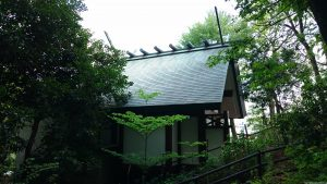 東山稲荷神社(東山藤稲荷神社)後方