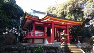 百草八幡神社 拝殿