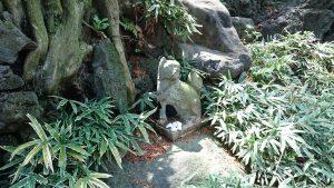 東山稲荷神社(東山藤稲荷神社) 石狐 (1)