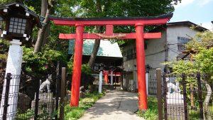 東山稲荷神社(東山藤稲荷神社) 二の鳥居