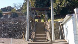 百草八幡神社 鳥居