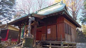 清水稲荷神社 拝殿