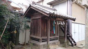 柳原稲荷神社 高木神社 社殿
