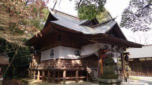 阿伎留神社 拝殿