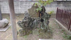 柳原稲荷神社 奉納碑