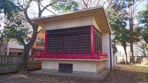清水稲荷神社 神楽殿