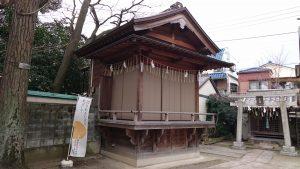 柳原稲荷神社 神楽殿