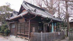 柳原稲荷神社 拝殿