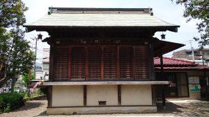 嶺白山神社 神楽殿