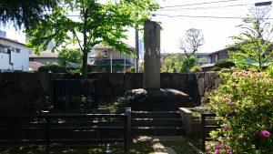 丸子山王日枝神社 敬神碑