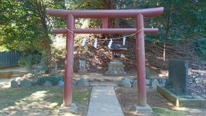 百草八幡神社 境内社鳥居
