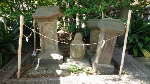 丸子山王日枝神社 八百八橋の遺構