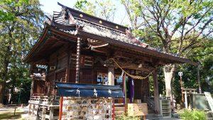 丸子山王日枝神社 拝殿