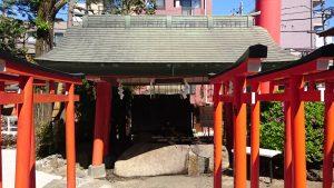 京濱伏見稲荷神社 手水舎