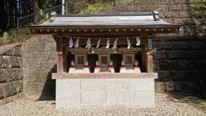 正一位岩走神社 稲荷社合殿