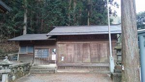 檜原村九頭龍神社 神楽殿
