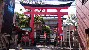 京濱伏見稲荷神社 大鳥居