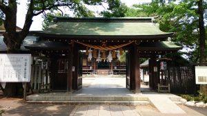 葛飾八幡宮 神門