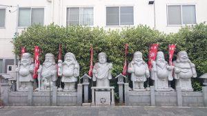 堀切天祖神社 菖蒲七福神像