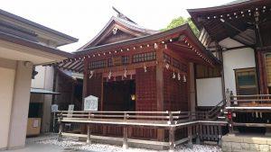 葛飾八幡宮 神楽殿