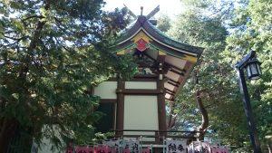蓮根氷川神社 本殿