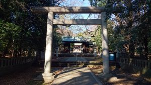氷川神社(双葉町) 二の鳥居