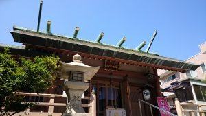 堀切天祖神社 拝殿