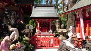 京濱伏見稲荷神社 祇園玉光稲荷社(末広稲荷)